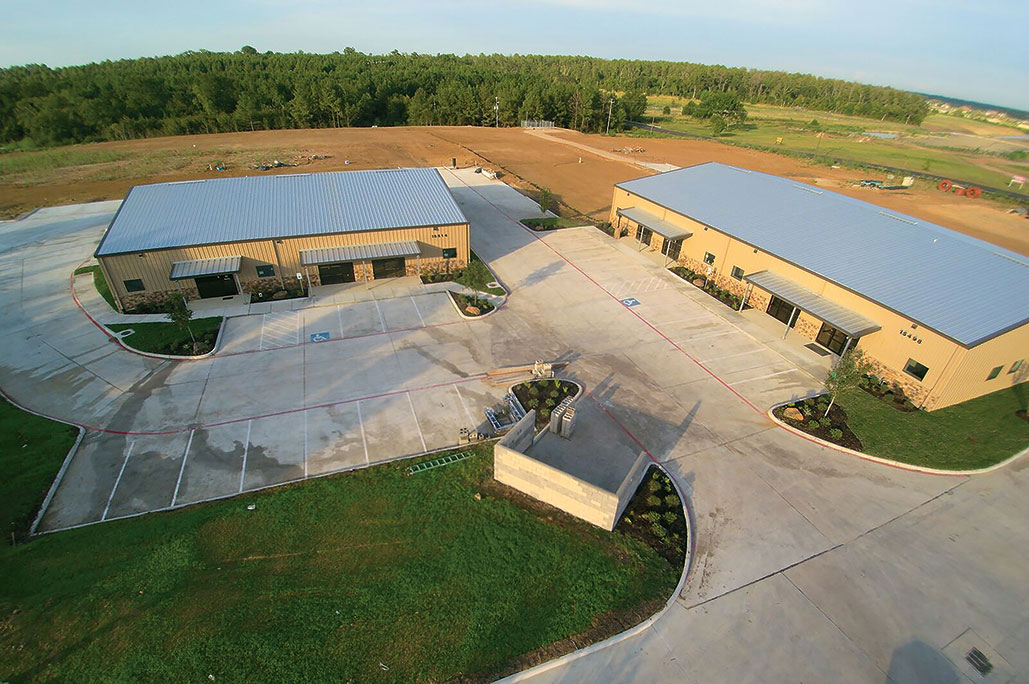 Office Warehouse Aerial of Buildings F1 and F5<div style='clear:both;width:100%;height:0px;'></div><span class='cat'>Warehouse/Flex</span>